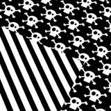 czarny white wzoru Zdjęcia Stock
