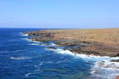 Czarny wybrzeże Tenerife Obraz Stock