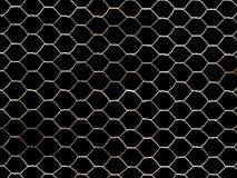 czarny występować samodzielnie metal sieci Obraz Stock