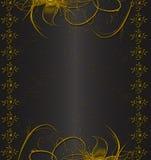 czarny złoto Obrazy Stock