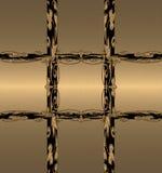 czarny złoto Zdjęcie Stock