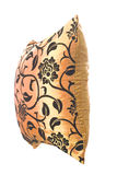 czarny złoty ornamentów poduszki jedwab Obrazy Royalty Free