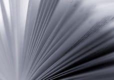 czarny zamazująca książka wzywa biały Fotografia Royalty Free