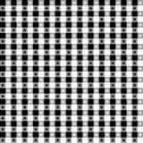 czarny zatwierdzenia obrus bezszwowy white Zdjęcia Stock