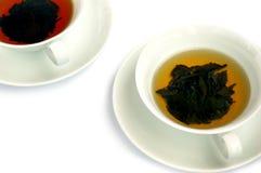 czarny zielona herbata zdjęcie royalty free