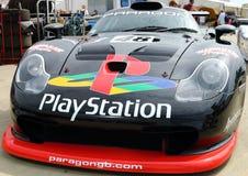 Czarnych 1990s GT bieżny samochód Obraz Stock