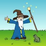 czarodziej ilustracja wektor