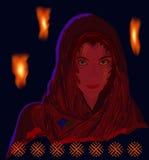 czarodziejka Zdjęcia Royalty Free