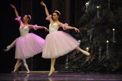 Czarodziejka baleta dziadek do orzechów Zdjęcie Royalty Free