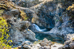 Czarodziejka baseny - wyspa Skye obraz stock