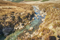 Czarodziejka baseny - wyspa Skye obraz royalty free