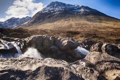 Czarodziejka baseny - wyspa Skye zdjęcie stock
