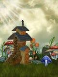 czarodziejka dom Fotografia Stock