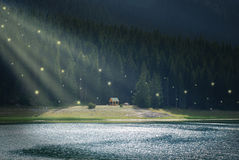 czarodziejka krajobraz Zdjęcia Stock