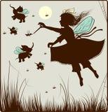 czarodziejka mała Zdjęcie Royalty Free