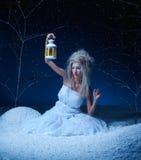 czarodziejka marznąca Fotografia Royalty Free