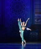 """Czarodziejka od """"One Tysiąc i Jeden Nights†lampy baletniczego  Obraz Royalty Free"""