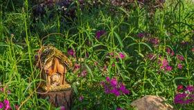 Czarodziejka ogródu dom obraz stock