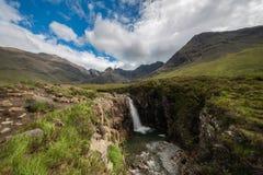 Czarodziejscy baseny, Glenbrittle, wyspa Skye, Szkocja zdjęcia royalty free