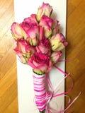 Czarodziejscy piękni kwiaty dzwoniący róża Zdjęcie Stock