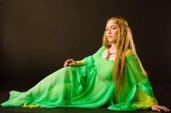 czarodziejska dama Fotografia Royalty Free