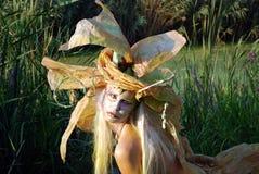 czarodziejska dziewczyna Fotografia Stock