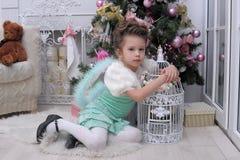 Czarodziejska dziewczyna Zdjęcie Stock