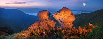 Czarodziejska góra Zdjęcia Royalty Free