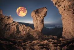 Czarodziejska góra Zdjęcia Stock