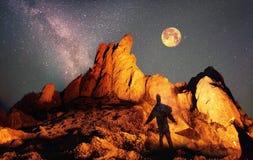 Czarodziejska góra Fotografia Stock