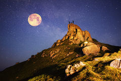 Czarodziejska góra Fotografia Royalty Free