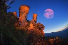 Czarodziejska góra Obraz Royalty Free