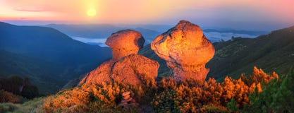 Czarodziejska góra Obrazy Royalty Free