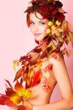 czarodziejska kobieta Obraz Royalty Free