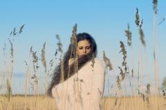 Czarodziejska kobieta. Zdjęcia Stock