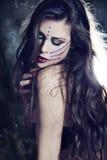 czarodziejska kobieta fotografia stock