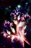 czarodziejska kwiecenia rośliny bajka Obraz Stock