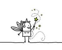 czarodziejska magiczna różdżka ilustracja wektor