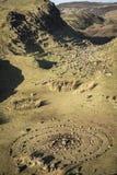 Czarodziejska roztoka na wyspie Skye w Szkocja Obraz Royalty Free