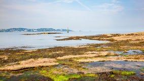 Czarodziejska zatoczka Paignton Devon Zdjęcia Royalty Free