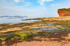 Czarodziejska zatoczka Paignton Devon Fotografia Royalty Free