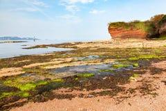 Czarodziejska zatoczka Paignton Devon Obrazy Stock
