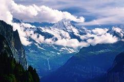 Czarodziejski góra krajobraz Obraz Royalty Free