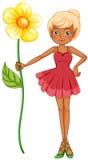 Czarodziejski mienie duży kwiat Zdjęcia Stock