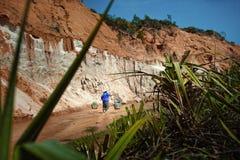 Czarodziejski strumień Wietnam 06-01-2014 Zdjęcia Stock