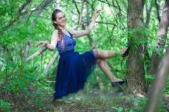 Czarodziejskiego lasu zębu czarodziejka fotografia stock