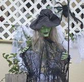 Czarownica Halloween Zdjęcia Royalty Free