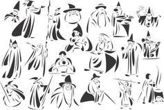 czarownicy ilustracji