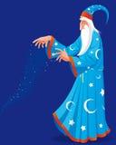 czarownik royalty ilustracja