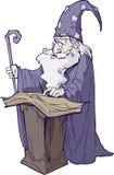 czarownik ilustracja wektor